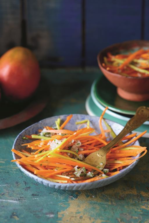 Carrot salad from Tastes of Durban